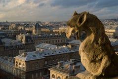 Chimera di Parigi immagine stock