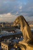 Chimera di Parigi fotografie stock