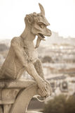 Chimera (gargoyle) Stock Photography