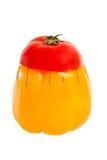 chimera mikstury pieprzu pomidoru projekt Zdjęcia Royalty Free