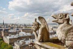 Chimera of Notre Dame 1 Royalty Free Stock Images