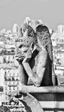 Chimera of Notre Dame 2 Stock Image