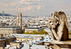Chimera of Notre Dame 3 Royalty Free Stock Photo