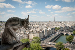 Chimera over Paris Stock Photos