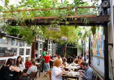 Chimera Salad Bar, Krakow Stock Photography