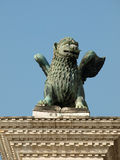 Chimera Sculpture on the Piazetta - Venice. Stock Photos