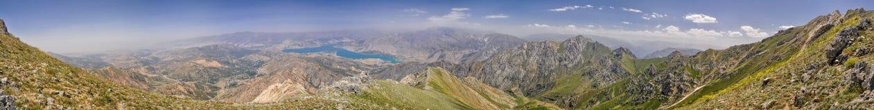 Chimgan en Uzbekistán foto de archivo libre de regalías