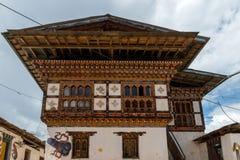 Chimi Lhakhang, Punakha省不丹2015年9月 免版税库存图片