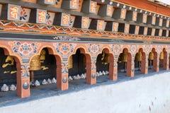 Chimi Lhakhang, der Ergiebigkeits-Tempel, ein buddhistisches Kloster in Punakha, Bhutan Stockfotos