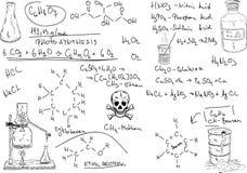 Chimica illustrazione di stock