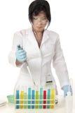 Chimica di scienza immagine stock libera da diritti