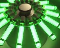 Chimica luminescente della macchina della centrifuga del sangue immagini stock libere da diritti