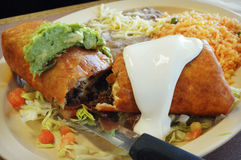 Chimichanga Royalty Free Stock Image