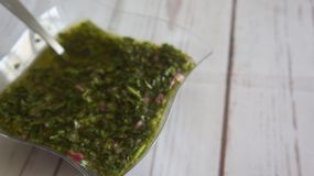 Chimichurri obraz royalty free