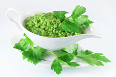 Chimichurri sauce Stock Photography