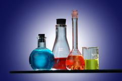 Chimie Photo stock