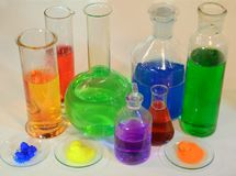 chimie Image stock