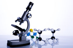 Chimie et biologie image stock