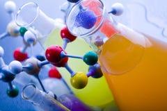 Chimie et biologie photos stock