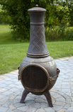 Chiminea Feuer-Potenziometer lizenzfreie stockbilder
