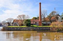 Chiminea velho em Colonia, Uruguai Fotografia de Stock