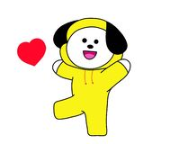 Free Chimmy Of Bt21 Or BTS Royalty Free Stock Photos - 162101008