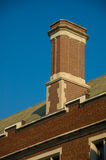 Chimney. On the roof of a campus building in Princeton University Stock Photography