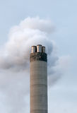 Chimney. One chimney from big industrial factory Stock Photography