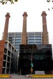 Chimney - Barcelona Royalty Free Stock Image