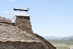 Chimney, black architecture (province of Guadalaja Stock Photography