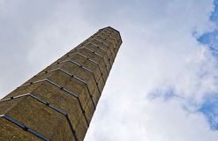 Chimney with blue sky Stock Photos