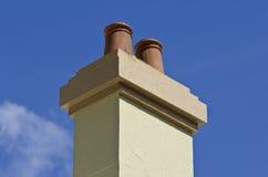 Chimney Blue Sky Stock Photo