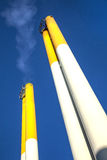 Chimney with  blue sky Royalty Free Stock Images