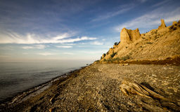 Chimney Bluffs State Park New York Royalty Free Stock Image