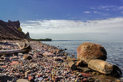 Chimney Bluffs State Park Royalty Free Stock Photos