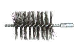 Chimney brush ramrod. On white background stock photo