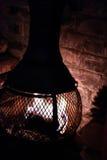 Chimney Burner Stock Photo