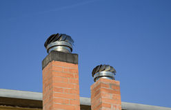 Chimney Caps Royalty Free Stock Images
