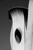 Chimney of Casa Mila in Barcelona Stock Photography