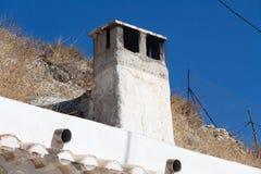 Chimney cave house. Granada. Stock Photo