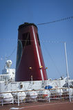 Chimney of cruise sip Royalty Free Stock Photography