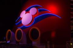 The chimney of the Disney Magic royalty free stock image