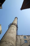 Chimney In Factory Royalty Free Stock Photo