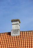 The chimney of a family house Royalty Free Stock Photography