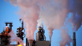 Chimney stock video footage