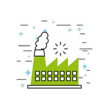 Chimney image illustration. Icon design vector graphic Stock Photo