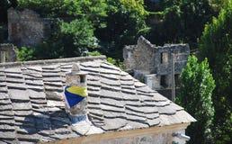Chimney in Mostar Stock Image