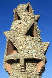 Chimney at Palau Guell Royalty Free Stock Images