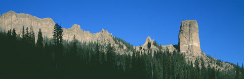 Chimney Peak Stock Photography