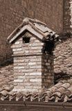 Chimney-pot. Close up of a chimney-pot Stock Photography